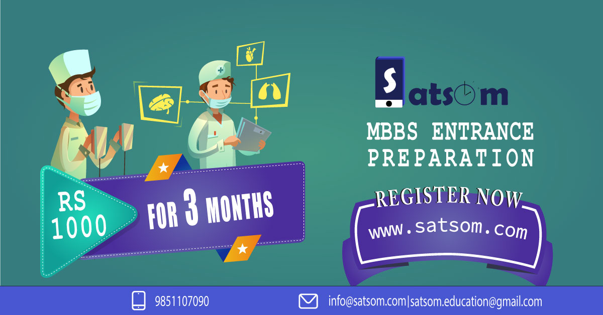 Online entrance exam preparation for MBBS in Nepal with SATSOM